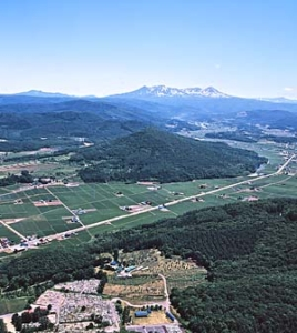 空から見た南果樹園(1)